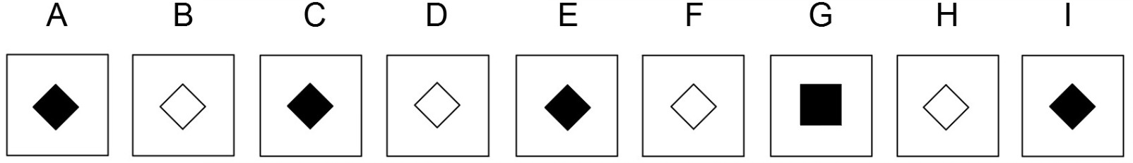 Example of an abstract reasoning question (cut-e scales ix)